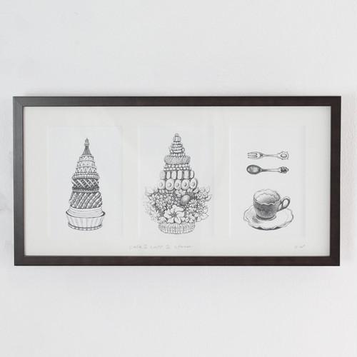 ワタベハルミ 「ティータイム」