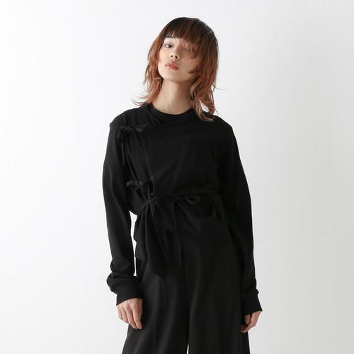 String cardigan - Black