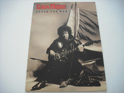 【パンフレット】GARY MOORE / AFTER THE WAR WORLD TOUR