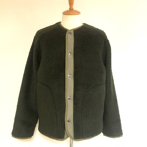 Tuscany Boa Snap jacket Olive