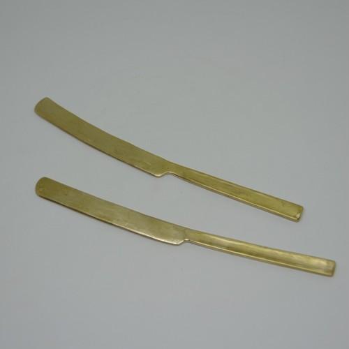 金細工【sou】真鍮のバターナイフ