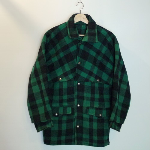 PIONEER BRAND 1950's Wool W-Mackinaw Cruiser Jacket