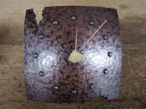 銅の置き時計03(掛け時計にもなります)