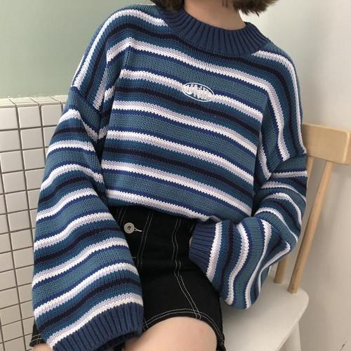 【お取り寄せ商品♡】ビックボーダーセーター  day173