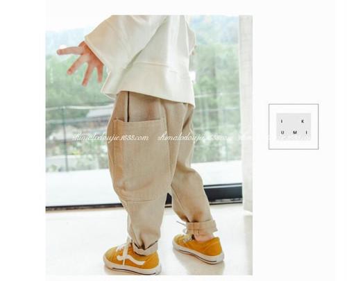 韓国子供服 ゆったりパンツhz061