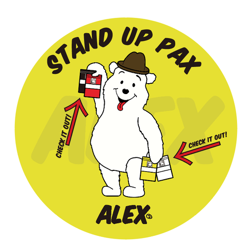 """"""" STAND UP PAX """""""