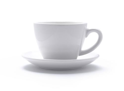 きれいなフォルムとカラーリング。イタリアミラノACFカプチーノカップ。ホットコーヒー1杯にもちょうど良い。