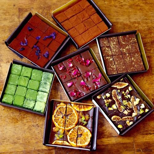 【お得な7種セット】ビーガン生チョコレート ※乳製品、乳化剤、白砂糖不使用