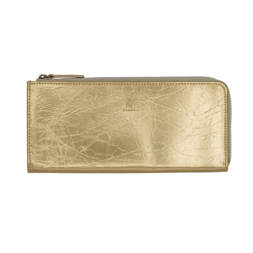 TIN BREATH Purse Antique gold