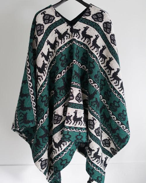 <SOLD OUT>French Vintage - Made in France Gypsy's Poncho