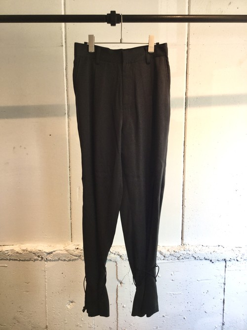 GVGV    DRAWSTRING PANTS  (BLACK