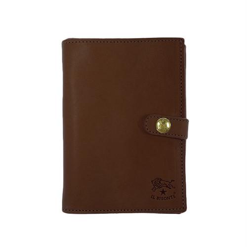 イルビゾンテ IL BISONTE 折財布 メンズ C0420-P-869 ブラウン