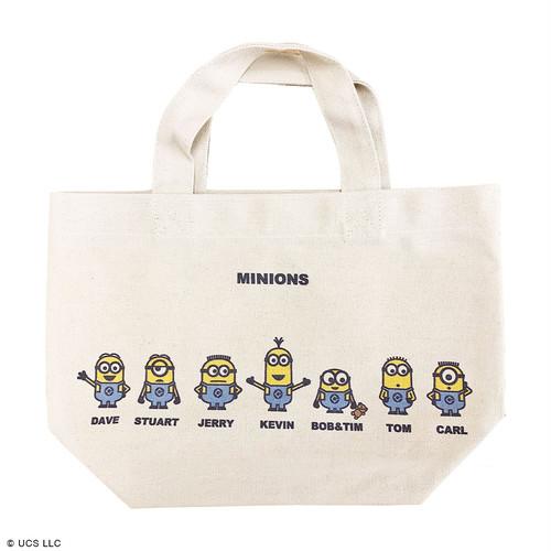 ランチバッグ/ミニオン(図鑑)【MINIONS POP UP STORE 限定】