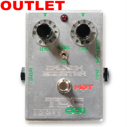TDC-001 CRUNCH BOOSTER HOT HIGH GAIN +(アウトレット品)