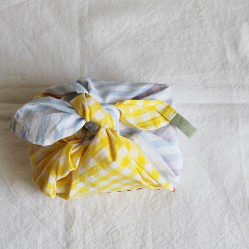 【再販】ひとりで包めるようになる お弁当包み 刺繍入