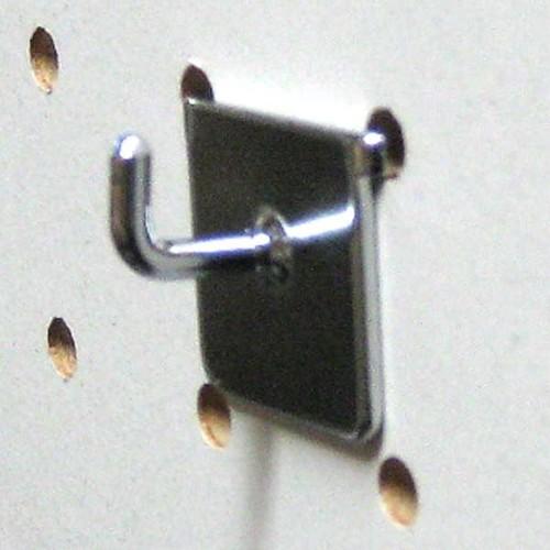 25mmピッチ有孔ボードフック 9mm時計フック 10本セット