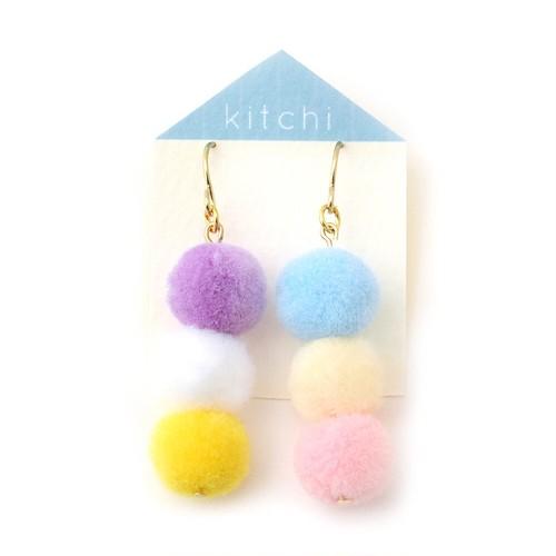 【SALE 40%off】kitchi おだんごピアス