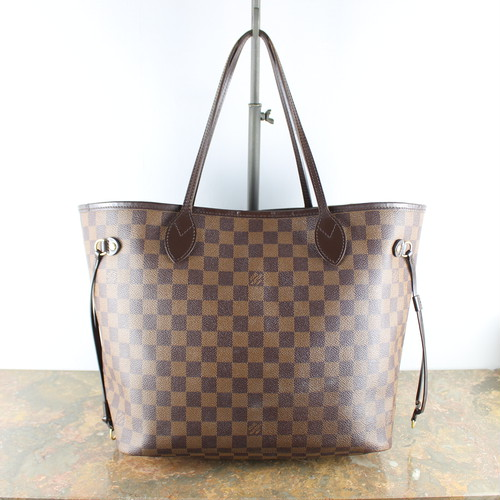 .LOUIS VUITTON N51105 CA0150 TOTE BAG MADE IN SPAIN/ルイヴィトンダミエエベヌネヴァーフルMMトートバッグ2000000056111