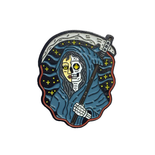 """No Fit State ピンバッジ ソフト エナメル """"Lady Death Pin"""" AJ00611"""