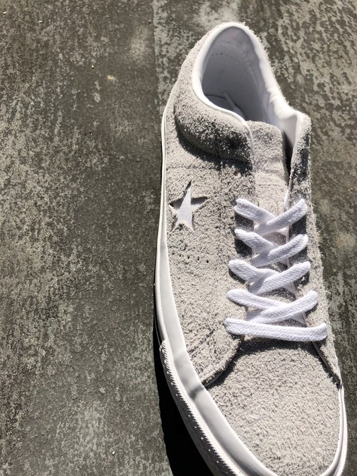 CONVERSE ONE STAR SUEDE - glay -