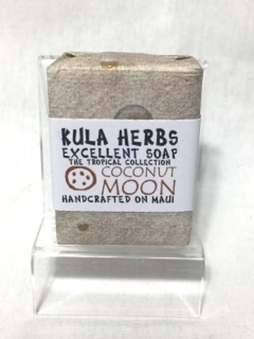 KULA HERBS(クラハーブス)Soap-ソープ-オーガニック-ココナッツムーン-石鹸-洗顔-ボディ-手作り-hawaii-ハワイ-ココナッツオイル-ククイナッツオイル