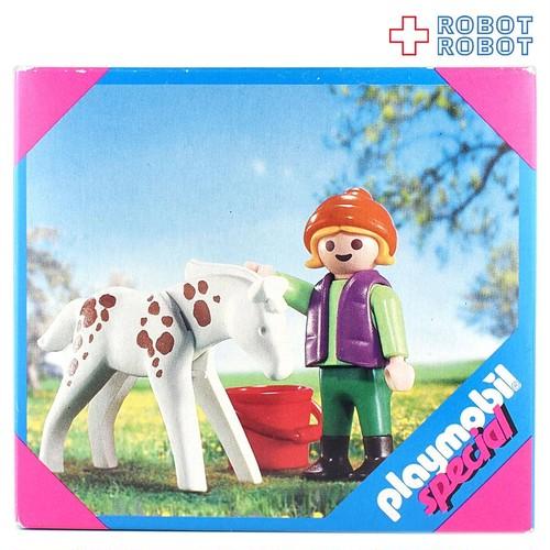 プレイモービル スペシャル 4571 子供と子馬