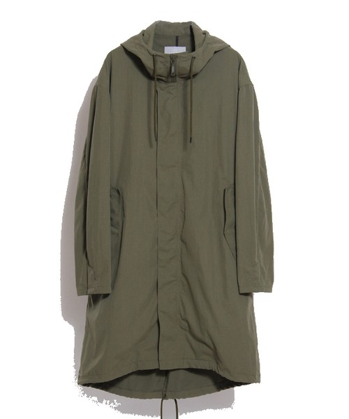 HOODED OVER COAT(juha)