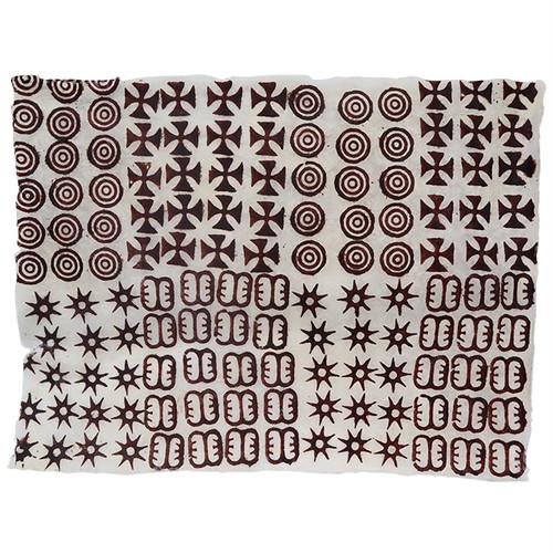 アシャンティ族のアディンクラの手漉き紙 3 / Asante Adinkra Handmade Paper 3