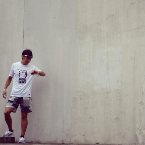 ARIGATO OKUMA Tシャツ ホワイト