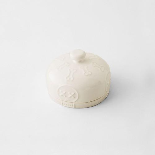 Pan de Muertos Bread Bin White