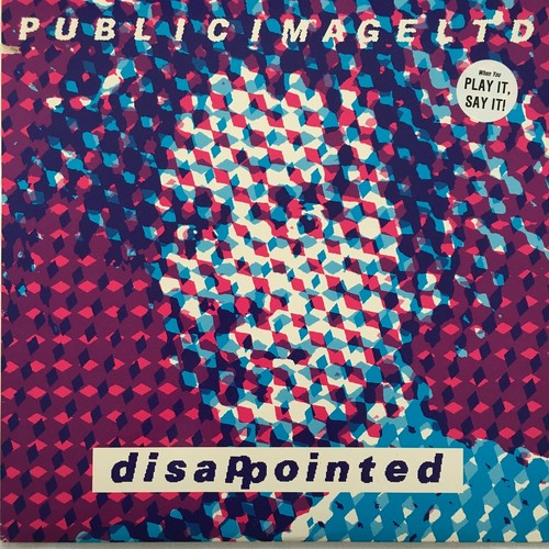 【12inch・米盤】Public Image Limited / Disappointed
