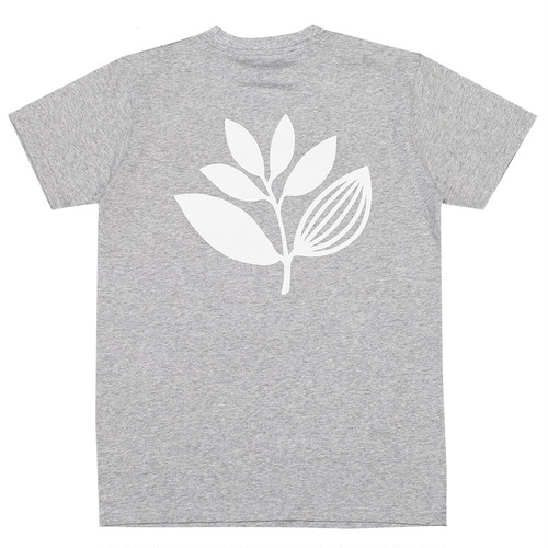MAGENTA PLANT TEE M HEATHER GREY マゼンタ Tシャツ