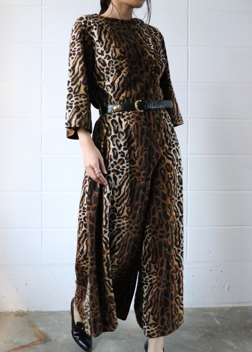 70's leopard all in one
