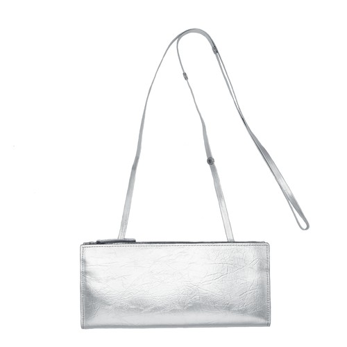 TIN BREATH Ready to go purse Silver