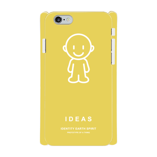 IDEAS/iPhone6/6sケース 801-イエロー