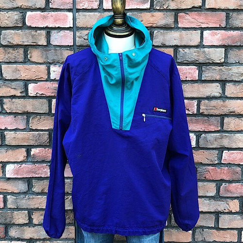 1990s Berghaus Wind Shirt Made In England
