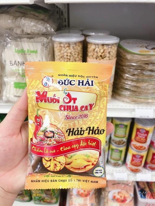 Muoi HaoHao Duc Hai-HaoHao Duc Hai 辛塩100g