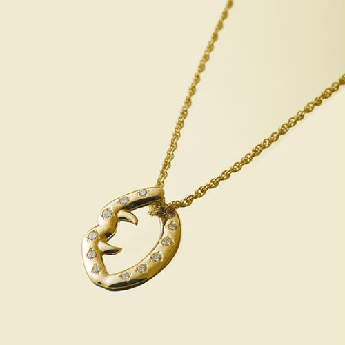 Fang Necklace Gold