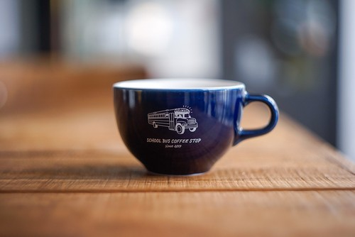 Kyoto 6oz latte cup -Navy-