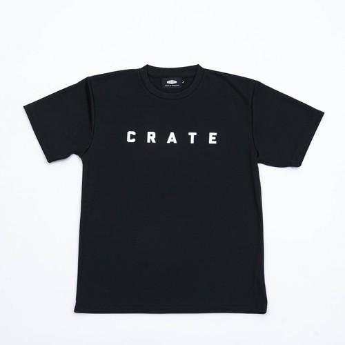 CRATE MESH Tee  BLACK