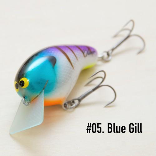 """BRISKY LURES  /  """" Oliver """" / #05. Blue Gill"""