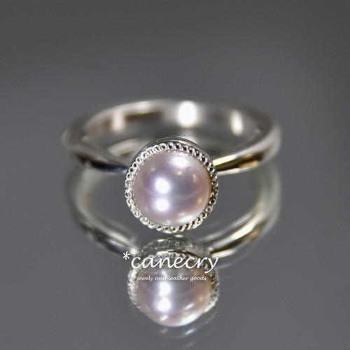 本真珠のリング