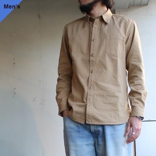 Orgueil レギュラーカラーシャツ OR-5044A ベージュ