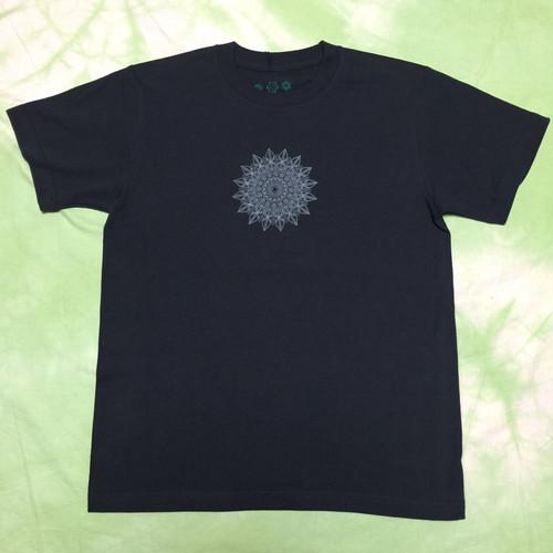 Tシャツ 葉の茂り*M