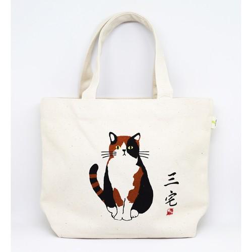 猫ミニトートバッグ(三宅さん)全2種類
