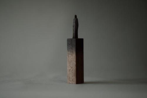 (054)wood figure-mini台付_028