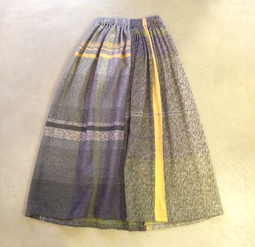 "【tamaki niime タマキニイメ】only one powan skirt wool ""long""001"