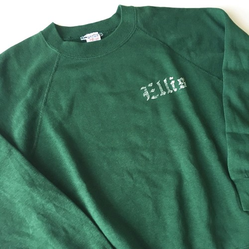 Champion : raglan sleeve sweatshirt (used)