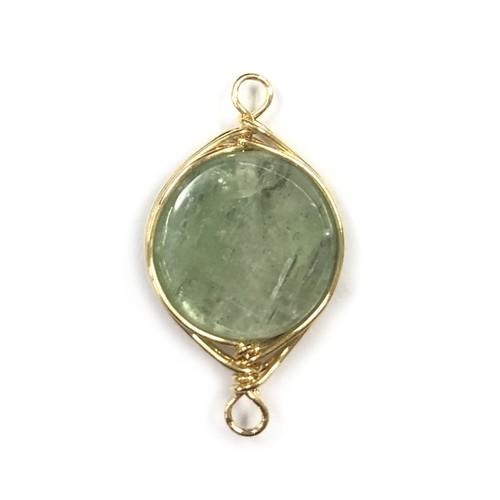 Wグリーンカイヤナイト 平丸