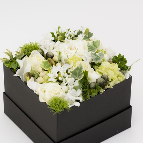 seasonal Box Arrangement(M)white